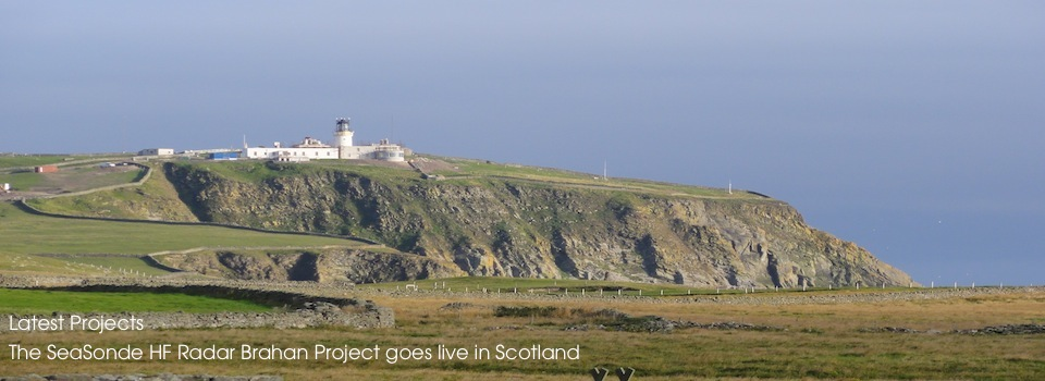 The SeaSonde HF Radar Brahan Project goes live in Scotland
